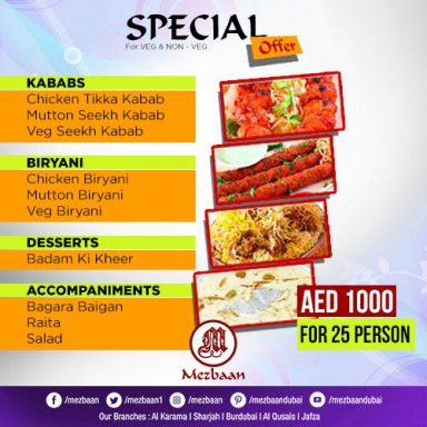 Christmas & New Year Special Offer for Live B.B.Q